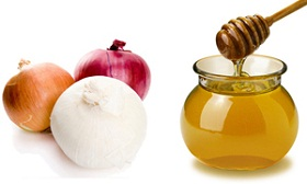 лук и мед от кашля